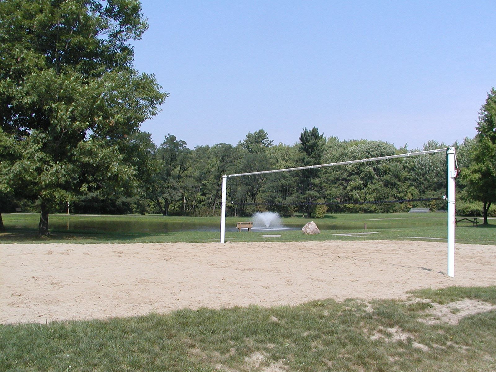 Richfield woods pond and volley