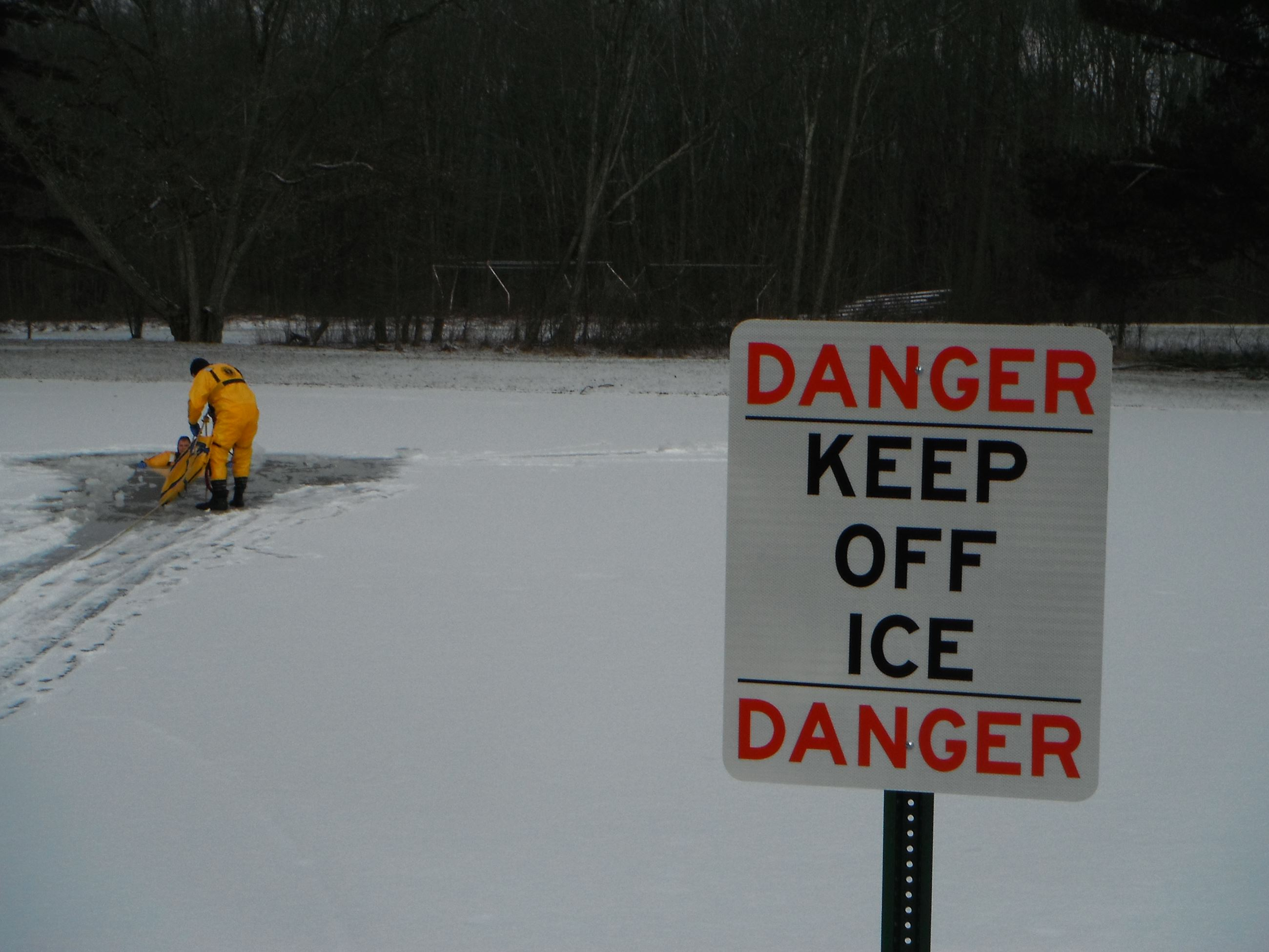 Keep Off Ice